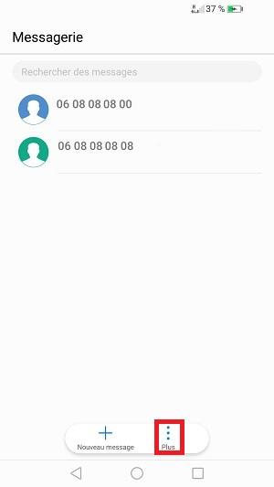 SMS Huawei P10 : envoi réception dépannage • mobidocs