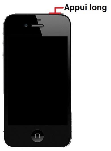 allumer iPhone 4S