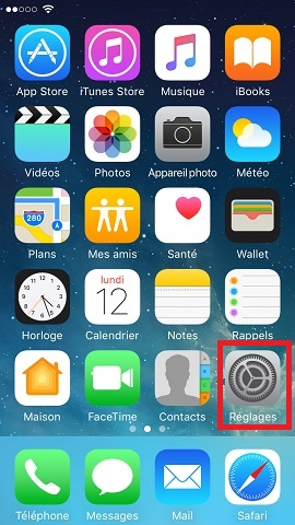 Personnalisation Iphone 5 Ios 10 Mobidocs