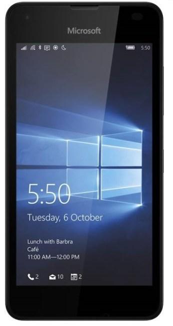Allumer Lumia 550