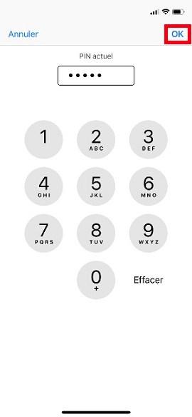 contact code pin ecran verrouillage iphone 7-pin-actuel