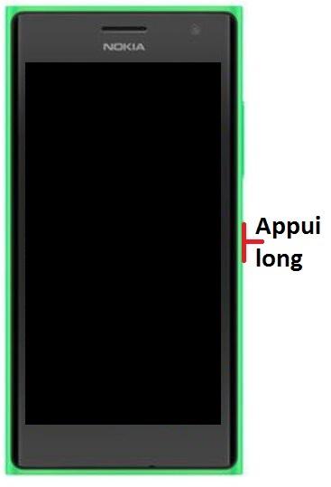 Allumer Lumia 735