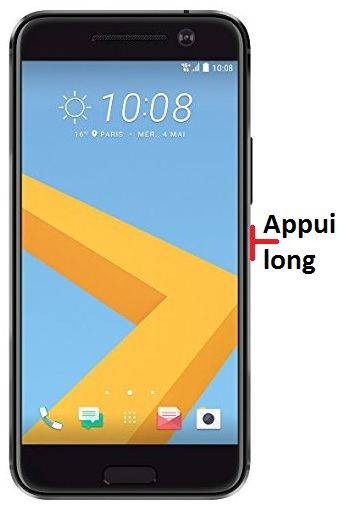 éteindre HTC M9