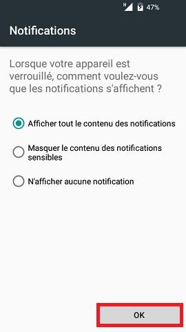 wiko android 5.1 contact code pin ecran verrouillage