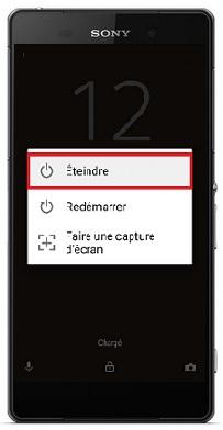 allumer Sony Xperia Z2