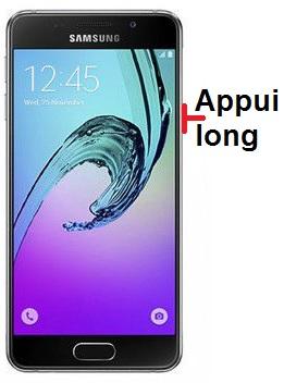 éteindre Samsung A3 2016