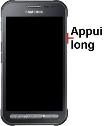 Allumer Samsung Xcover 3