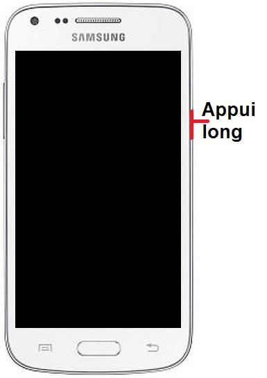 Allumer Samsung Core Plus