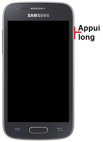 Allumer Samsung ACE 3