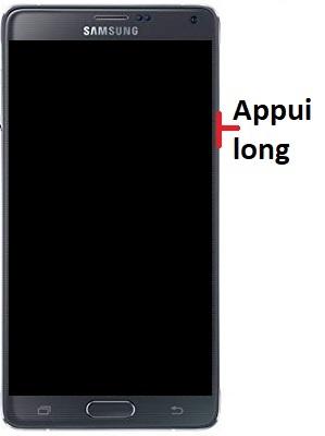 Allumer Samsung Note 4