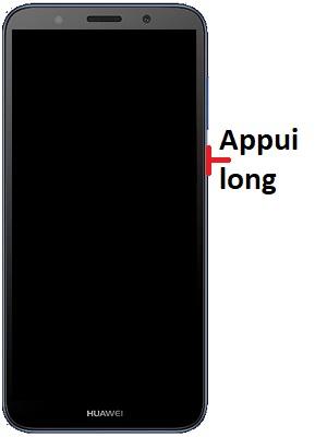 Allumer Huawei Y5 2018