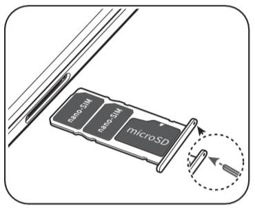 Carte SIM & Code PIN : Huawei Y5 2018 • Mobidocs