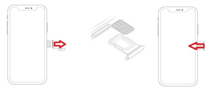 Insérer Carte SIM & Changer Code PIN : iPhone XS • Mobidocs