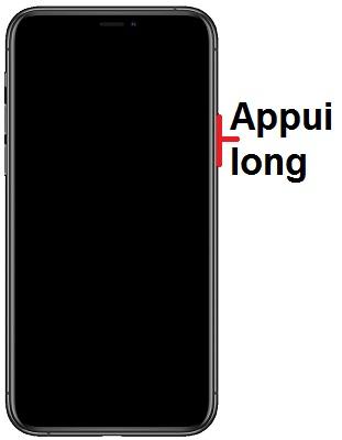 Allumer iPhone 11