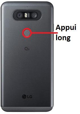 éteindre LG Q8