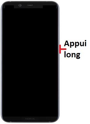 Allumer Nokia 8.1