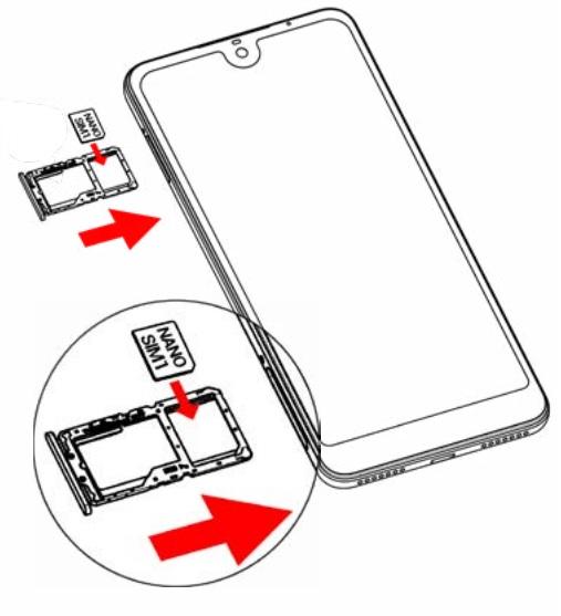 Insérer Carte SIM & Changer Code PIN : Wiko view 2 • mobidocs