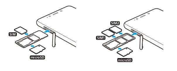 Insérer Carte SIM & Changer Code PIN : Sony Xperia L3