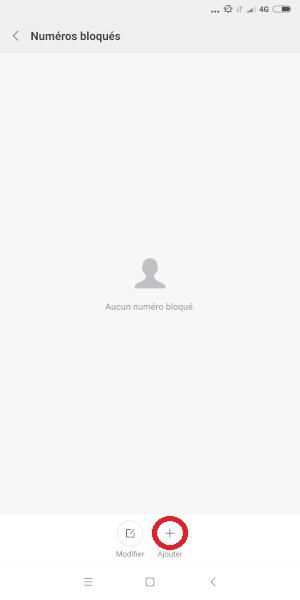 bloquer numéro Xiaomi Note 5
