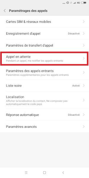 double appel Xiaomi Note 5