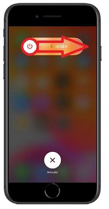 éteindre iPhone SE 2020