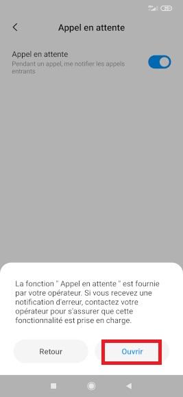 double appel Xiaomi Note 8