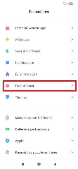 Personnalisation Xiaomi Redmi Note 8 Sonnerie Fond Ecran Mobidocs
