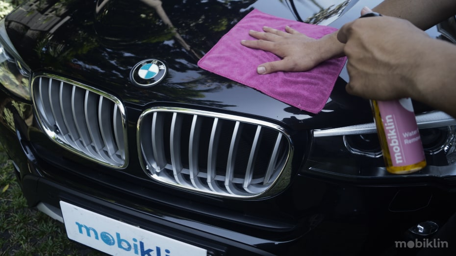 Layanan car wash di Bandung panggilan dari Mobiklin.