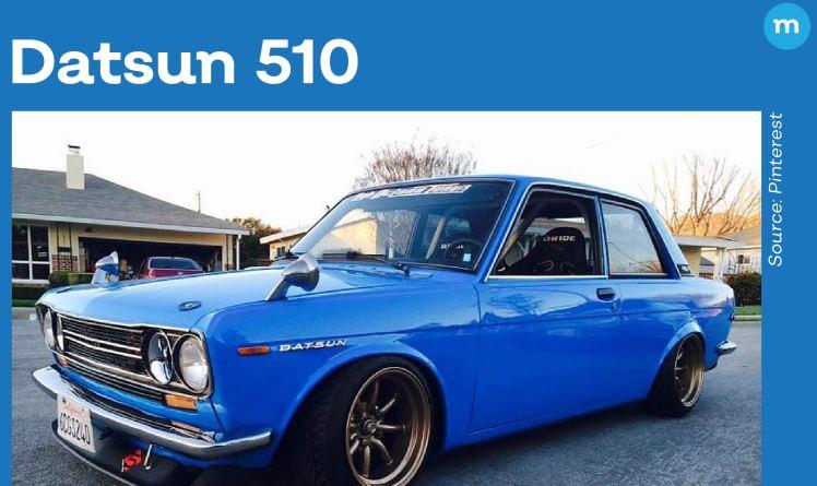 Datsun Bluebird 510, Sedan Klasik Retro Yang Populer Pada Zamannnya.