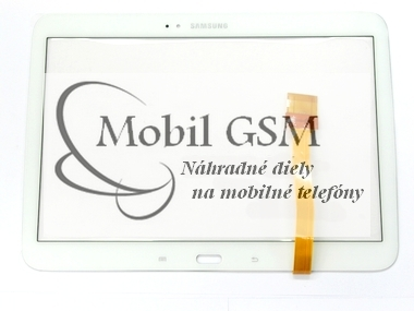 Dotykové sklo Samsung P5200, P5210 Galaxy Tab 3 10.1 Biele