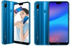 Huawei presenterar P20 Lite i Kina