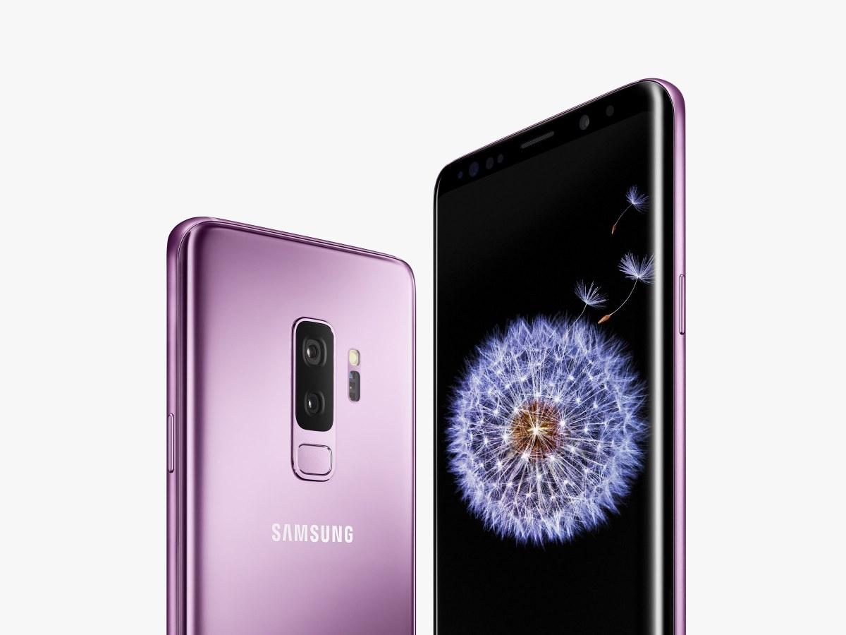 Samsung Galaxy S9 Mini påträffas i det vilda