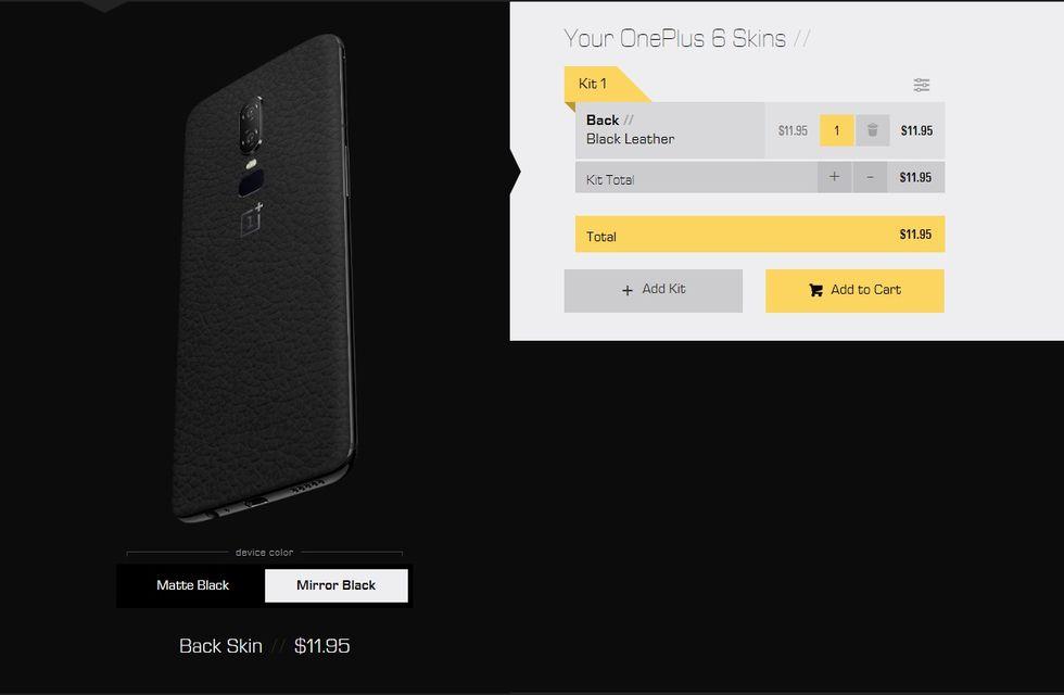 Dbrand tillkännager OnePlus 6