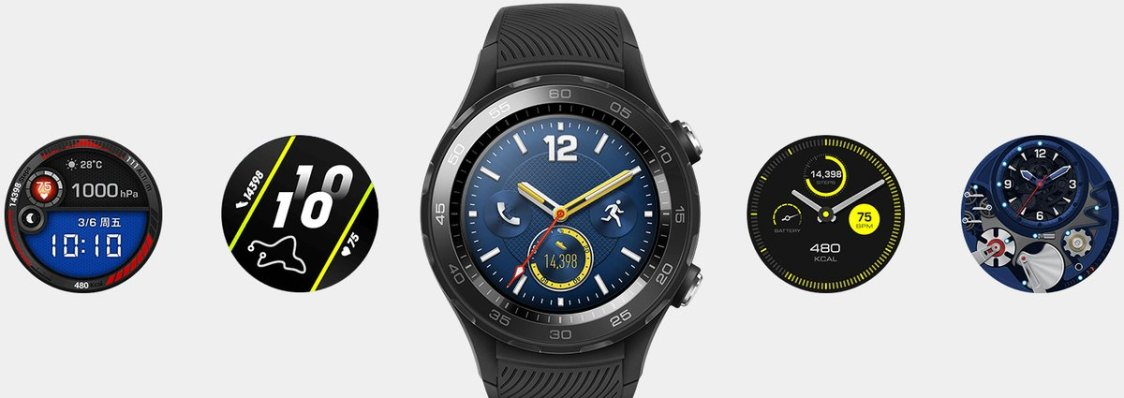 Evan Blass publicerar bilder och specifikationer på Huawei Watch 2 (2018)