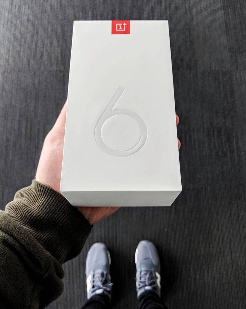 Anställd på OnePlus har fått hem en OnePlus 6