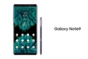 Officiell bild kan ha påträffats på Samsung Galaxy Note 9