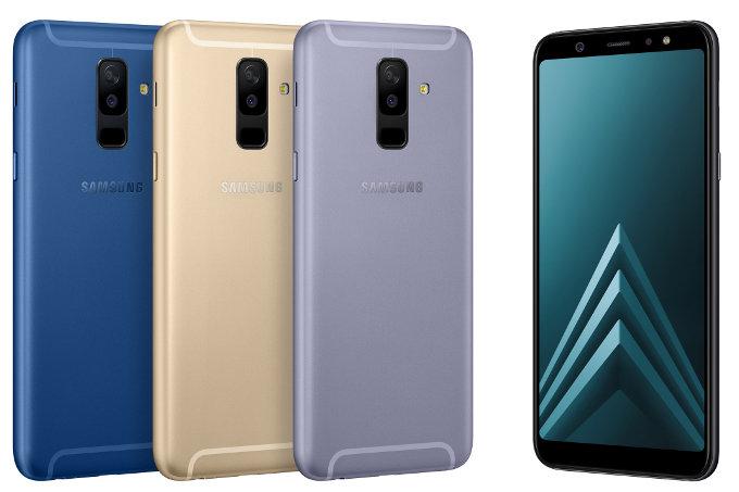 Här är Samsung Galaxy A6+