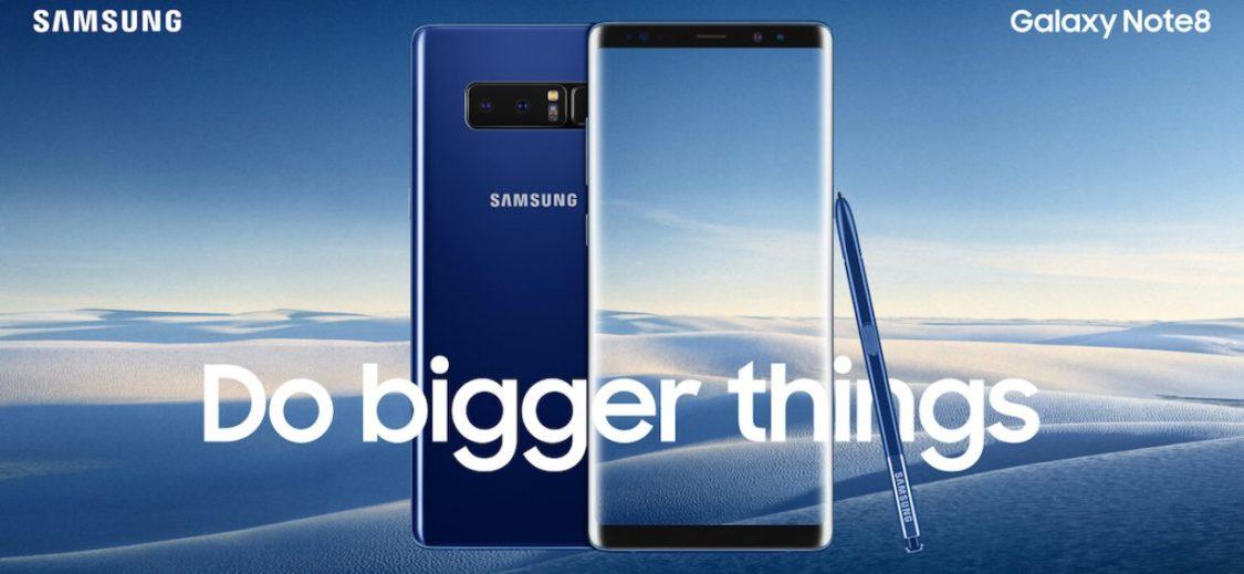 Källa släpper specifikationer på Galaxy Note 9: 4000 mAh-batteri och fingeravtrycksläsare under displayen