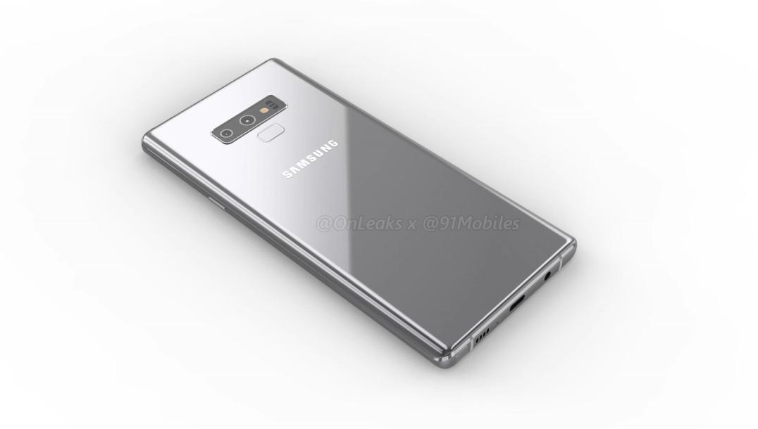 Samsung Galaxy Note 9 kommer få en horisontell kameramodul – på grund av batteriet