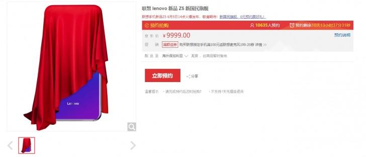 Lenovo Z5 dyker upp hos återförsäljare – kostar 13 700 kronor