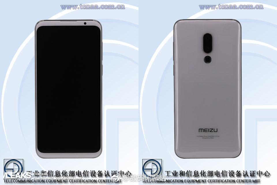 Meizu 16 dyker upp hos TENAA – bekräftar fingeravtrycksläsare under displayen
