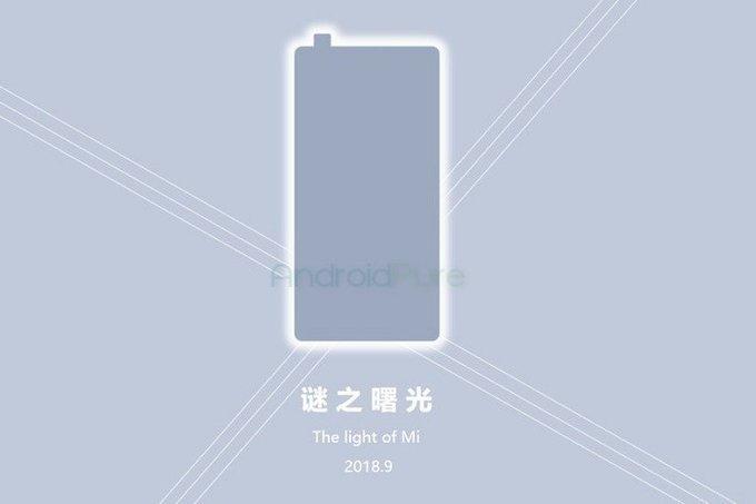 Bild dyker upp på Xiaomi Mi Mix 3, sägs få en 6,39 tumsskärm