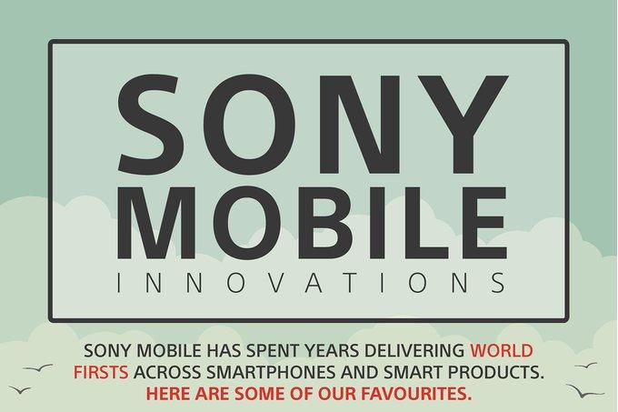 Sony går igenom vad man varit först med i mobilbranschen