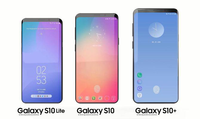 Rykte: Samsungs nästa Galaxy-serie heter Galaxy S10 Lite, S10 och S10+