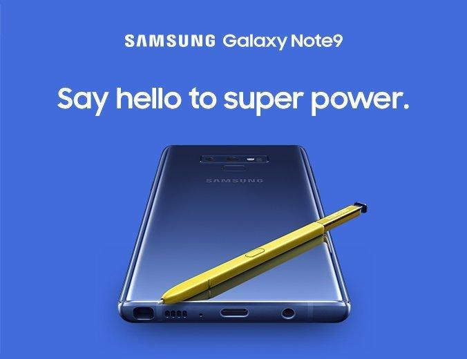 Samsung visar upp vilken spelprestanda Galaxy Note 9 kommer få