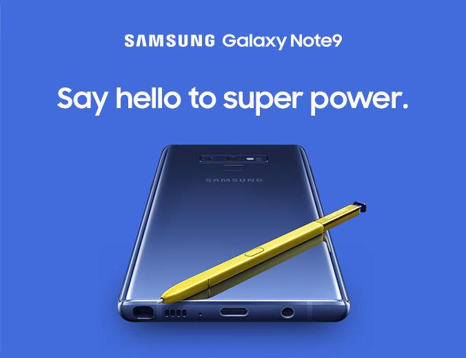 Introvideon till Samsung Galaxy Note 9 läckt