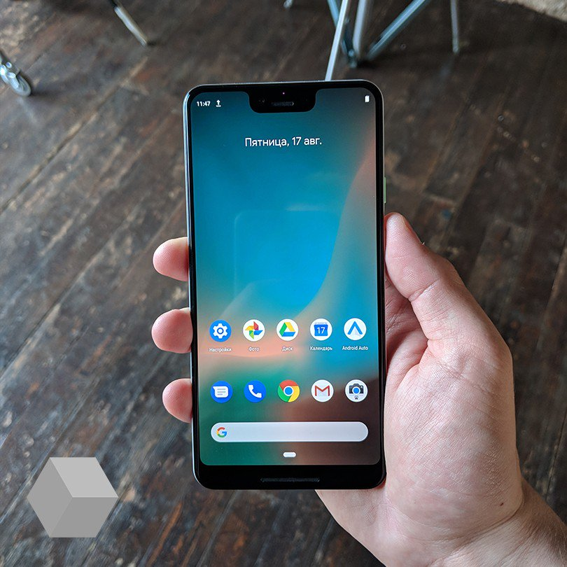 Hands-On bilder på Google Pixel 3 XL
