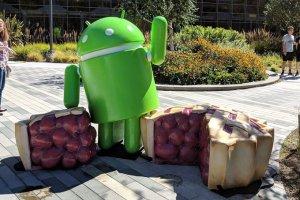 Android 9.0 Pie drivs av AI