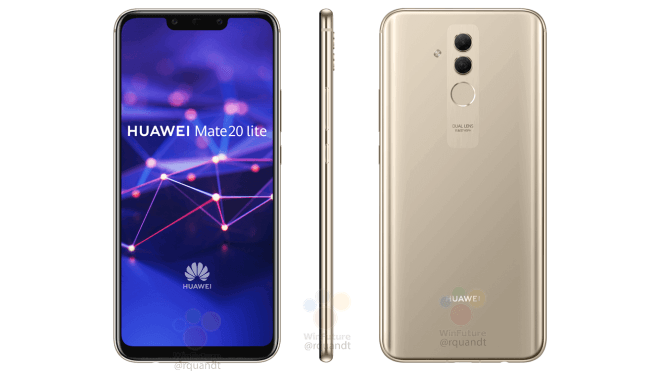 Pressbild på Huawei Mate 20 Lite