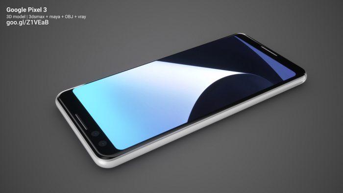 Så här ser Google Pixel 3 ut!